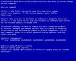 The Blue Screen Saver of Death