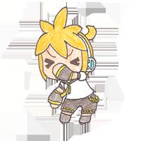 Len's monkey dance by Len-Kagamine--02