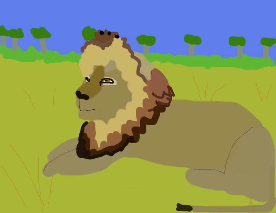 Cecil the Lion by freacls