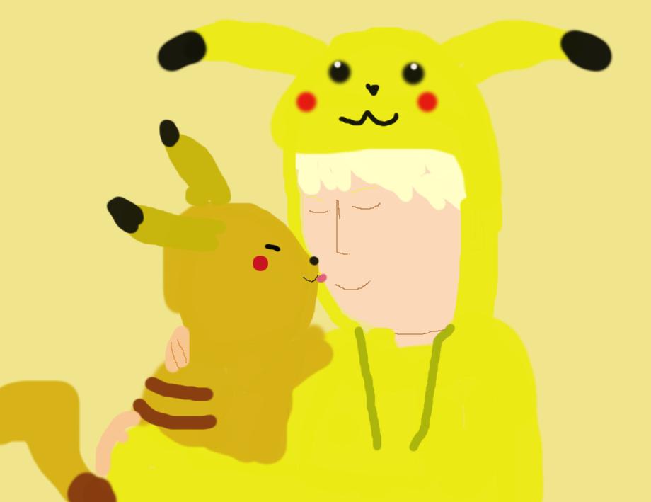 I love you Pikachu by freacls