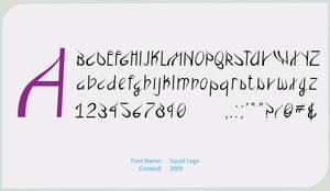 Squidlegs Font