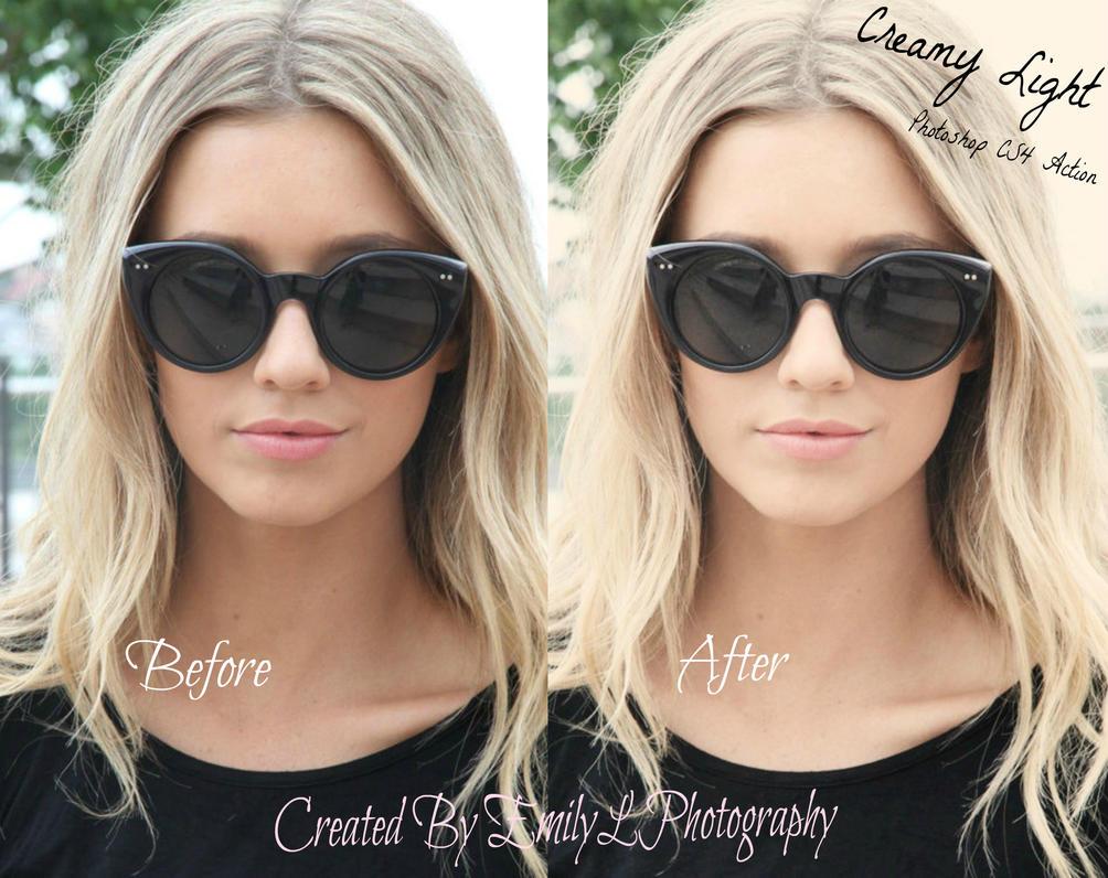 FREE Creamy Light Photoshop Action by EmilyLPhotography