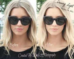 FREE Creamy Light Photoshop Action