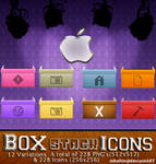 Box Stack Icons