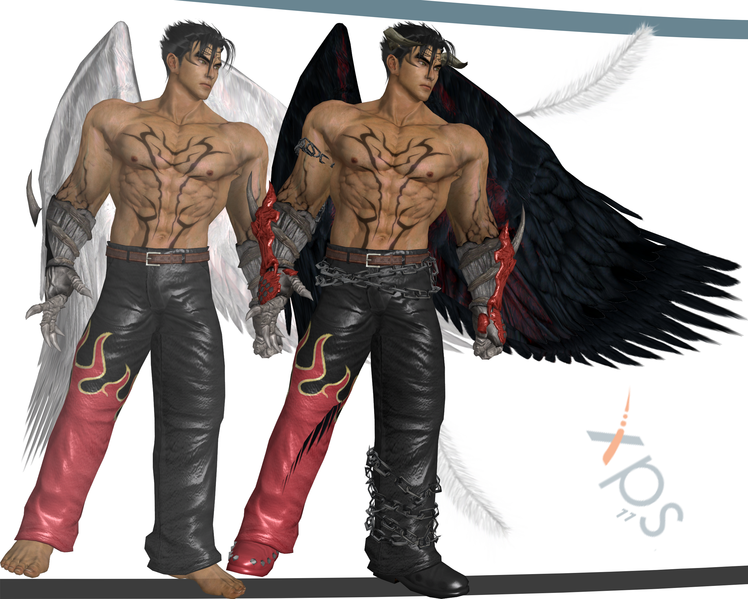 Tekken 7 Devil Jin Legacy By Shreis On Deviantart