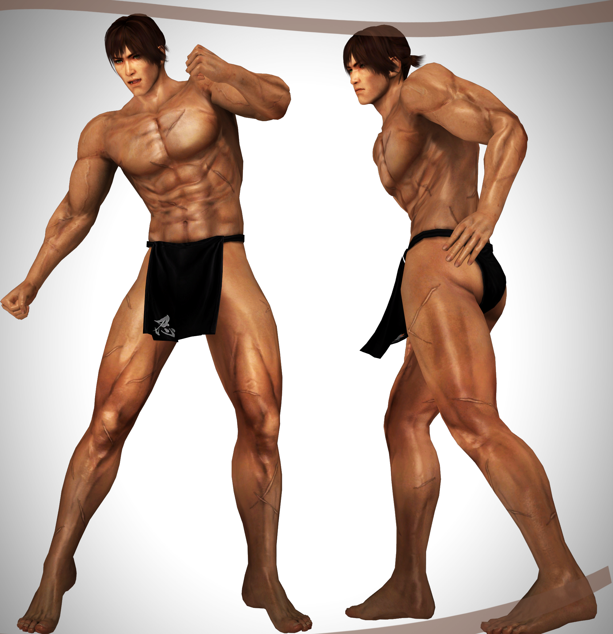 WARRIORS ALL-STARS - Ryu Hayabusa Fundoshi