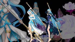 Fire Emblem Warriors and if - Aqua - Default by shreis