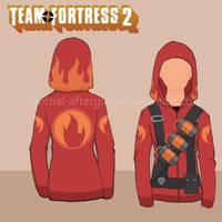 Team Fortress 2 Pyro Hottie's Hoodie Tutorial