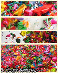 abstract crayon textures