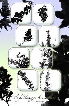 foliage- brush set