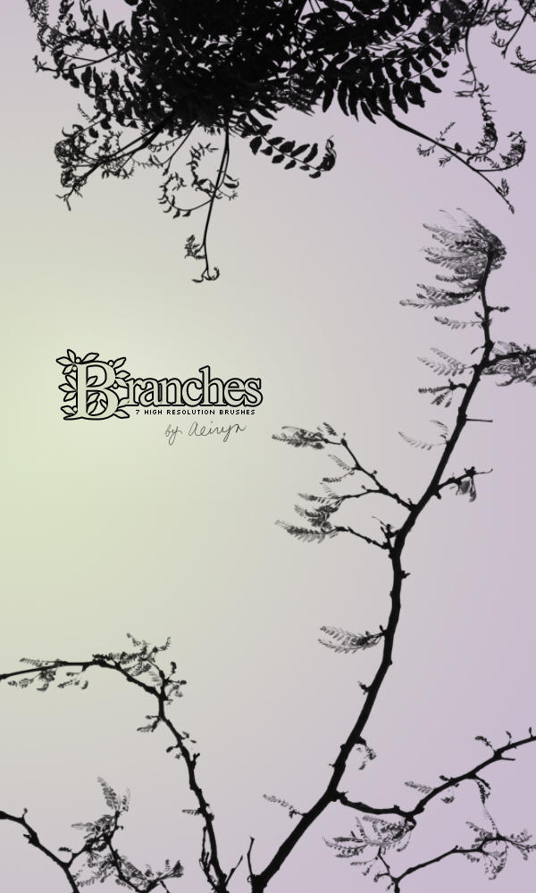 Branches- 7 brushes by aeiryn