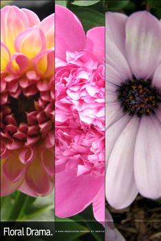 Floral Drama. Pack 7