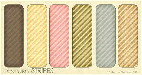 Textured Stripes- 6 patterns
