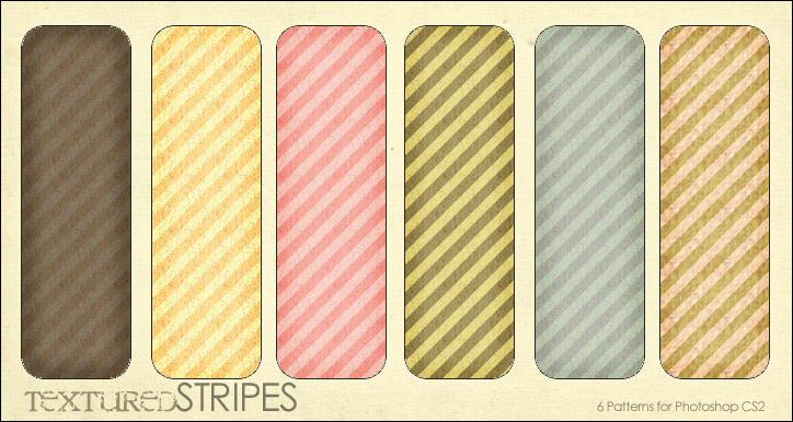 مكتبة الباترن 2013 ( اكبر تجميعه لملفات البآترن ) 2013 Textured_Stripes__6_patterns_by_aeiryn
