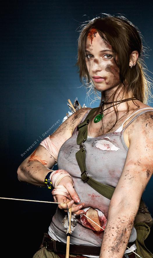 Alicia Vikander - Lara Croft by skyseed21