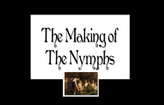 Animated WIP of The Nymphs