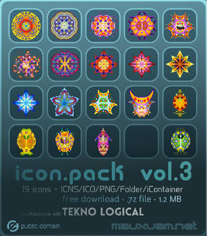 icon.pack vol.3 (TeknoHaekel)