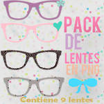 Pack De Lentes para dolls