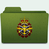 Canadian Forces Folder by jasonh1234