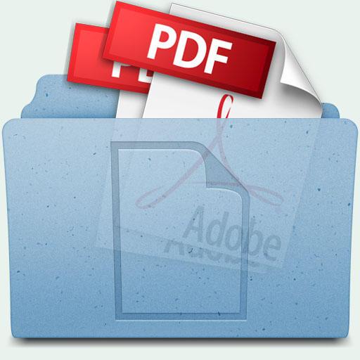 how to create a pdf folder
