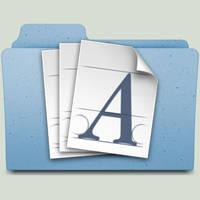 Font Folder by jasonh1234