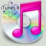 iTunes 8 Pink