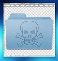 Leopard Folder Photoshop file by jasonh1234