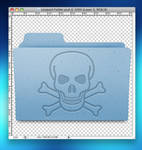 Leopard Folder Photoshop file