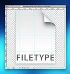 Leopard File Photoshop file
