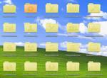 XP Style Leopard Folders
