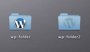 Wordpress folders by jasonh1234