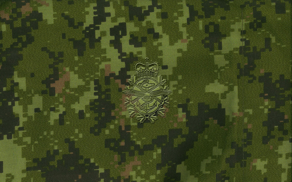Canadian Army Flag Wallpaper
