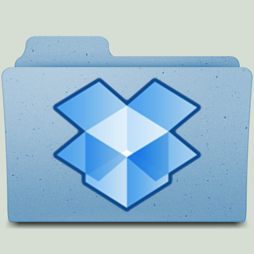 DropBox Folder in Color by jasonh1234