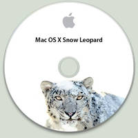 Snow Leopard Disc by jasonh1234