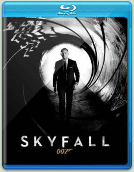 Skyfall Blu-Ray Cover