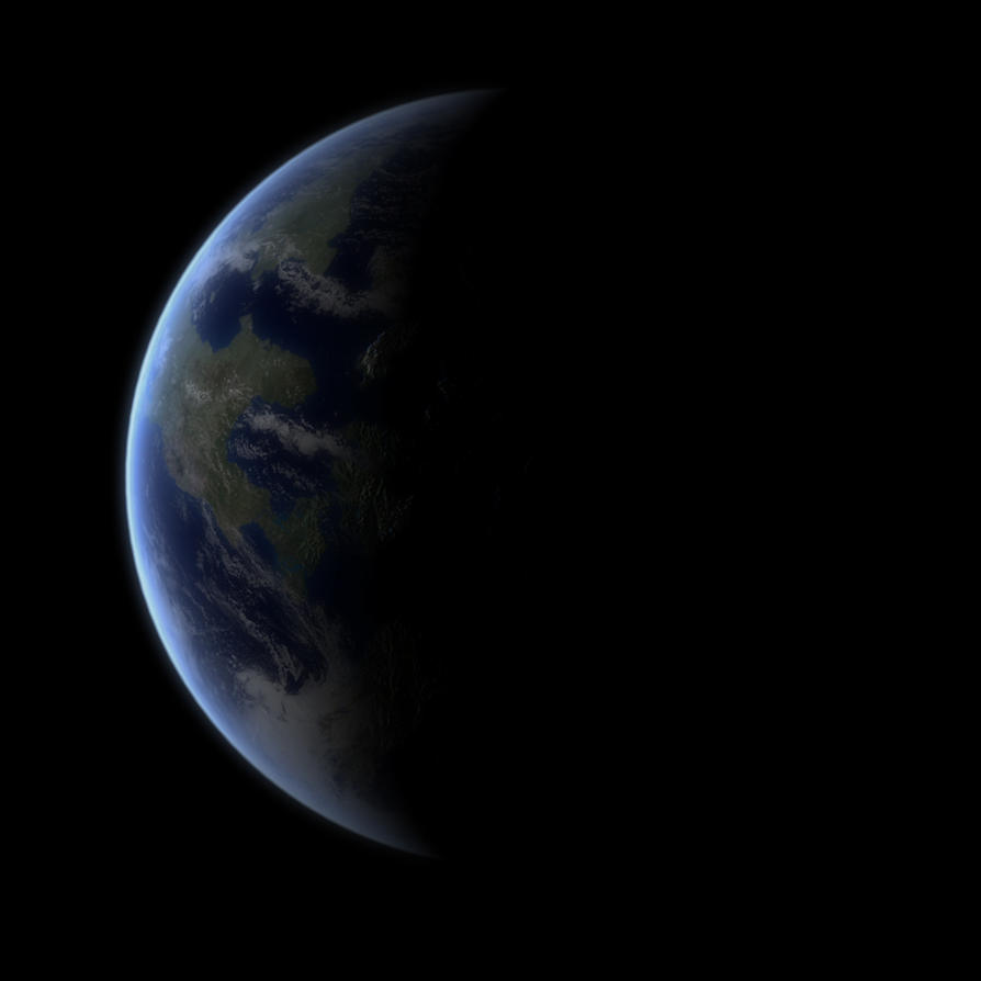 Terran Planet by KillaBC