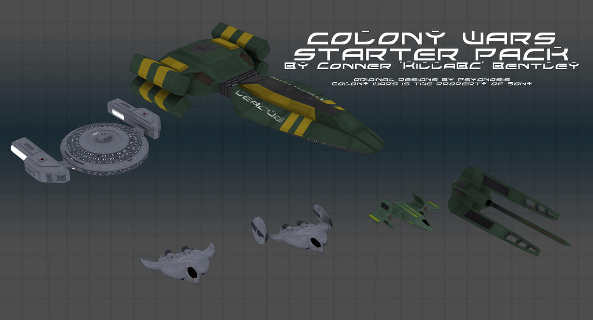 Colony Wars starter pack by KillaBC