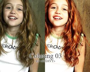 Coloring 03 - Miley Cyrus