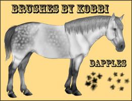 Dapple Brushes by kobbi