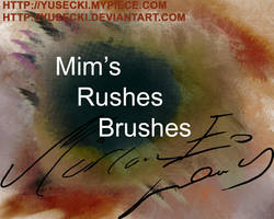 Day 68: Mim's Rushes Brushes by Yusecki