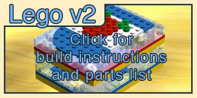 Lego Case V2 for Raspberry Pi by Yusecki