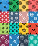 Seamless Photoshop Pattern Pack (transparent)