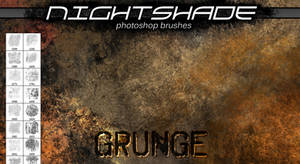 Nightshade grunge brushes