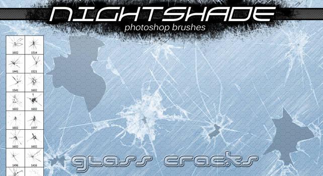 Nightshade glass cracks v2 by Niteshader