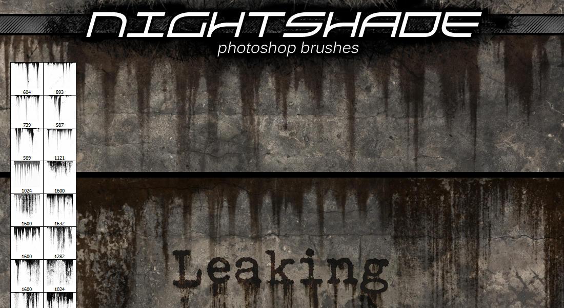 Nightshade leaking brushes by Niteshader
