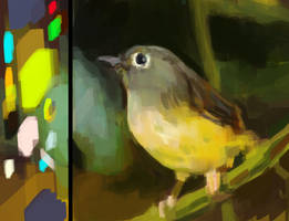 painting process gif