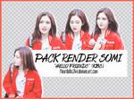 [160909] Pack Render Somi HELLO FRIENDS KBS