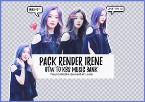 [160910] Pack Render Irene by fleurldellis2k4