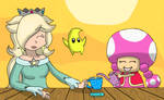Fav. Mario Girls and their Tea Party.