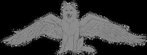 F2U Winged Wolf Base (Progress Image?)